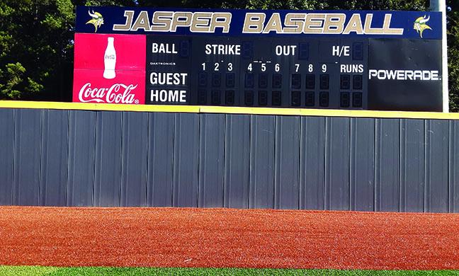 Baseball Wall in Alabama