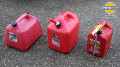 Types of Gas Cans