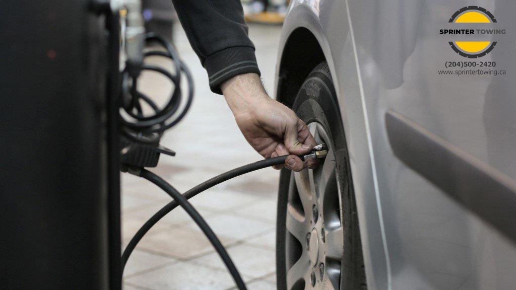 Spring Car Maintenance: Check Tire Pressure