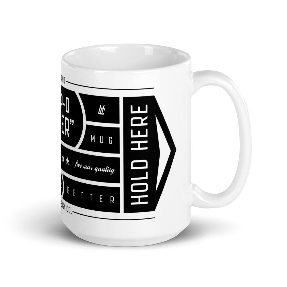 """BDC """"Temp-o-later"""" Mug"""