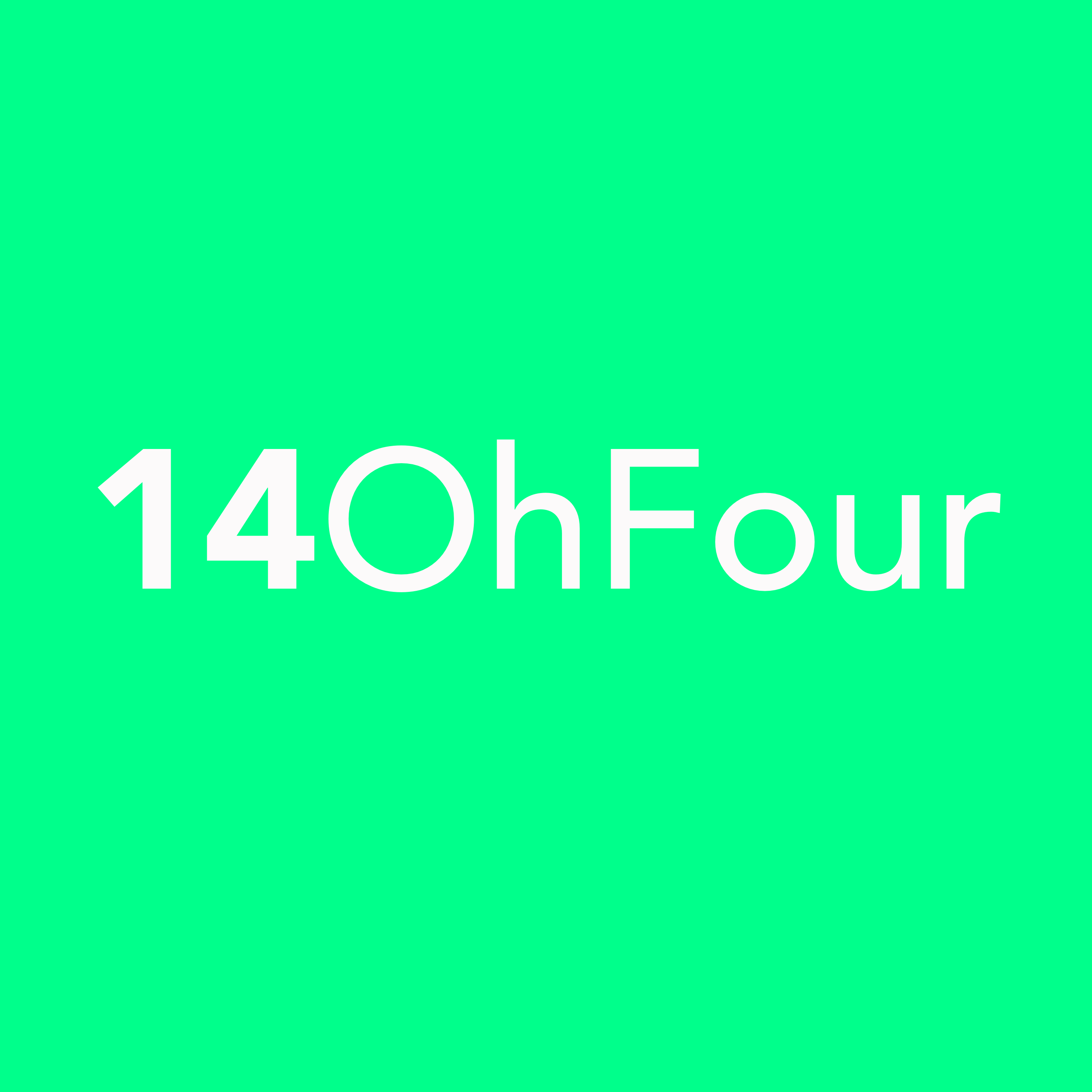 14OhFour footer logo