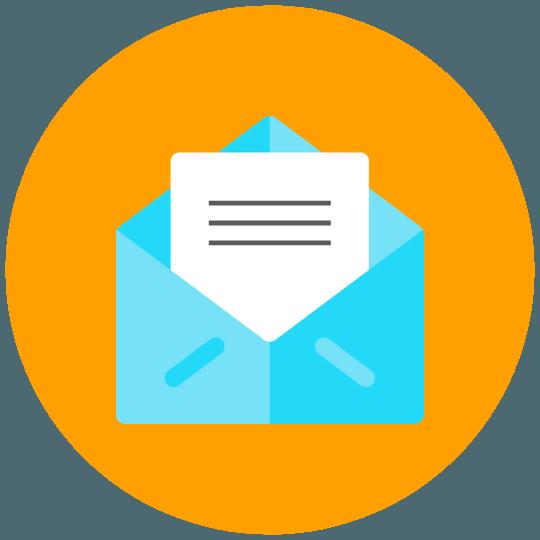 Email Marketing Icon von Wunderbox Marketing