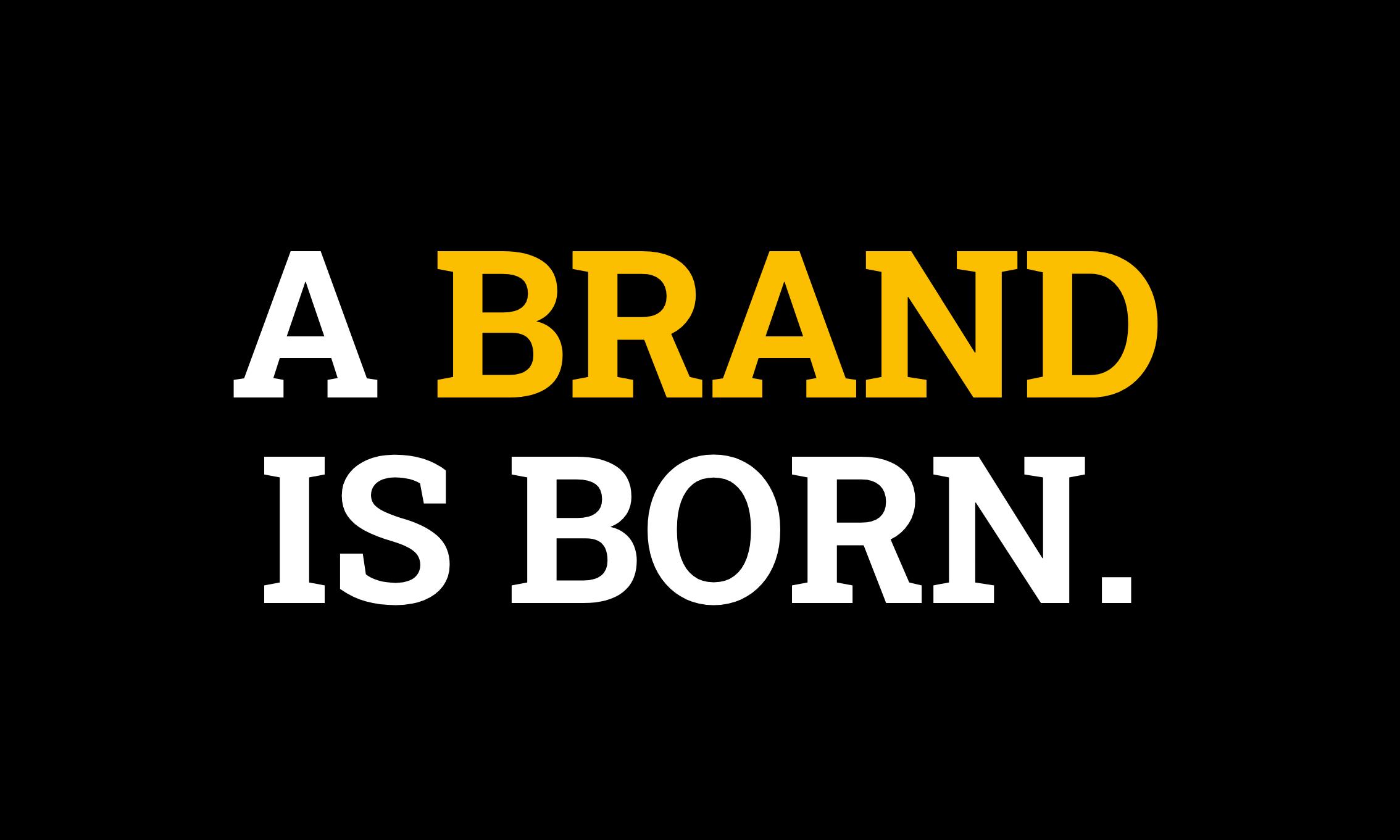 Branding Abbildung A-Brand-is-Born von Wunderbox Marketing