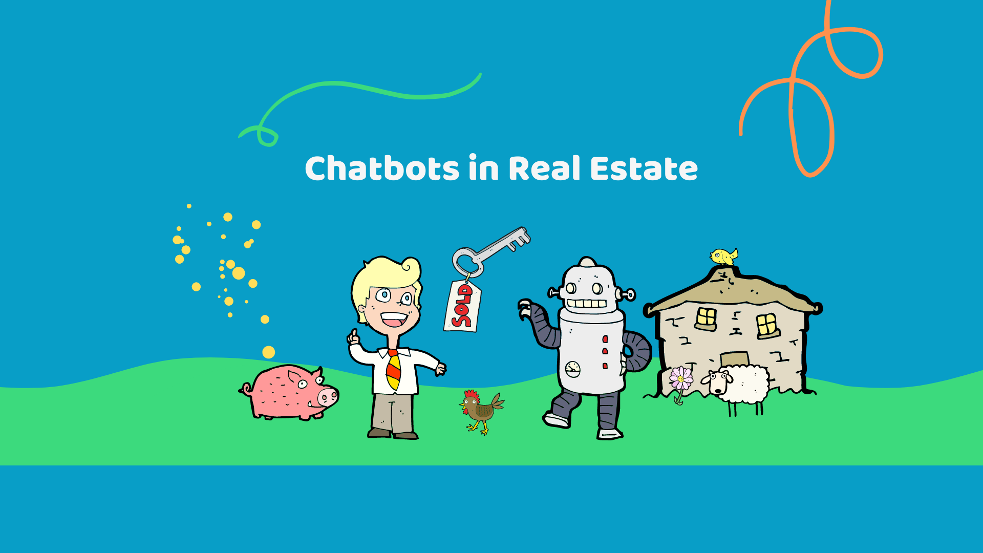Top 10 reasons why you should use real estate chatbots