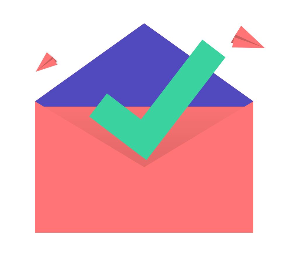 mail send logo