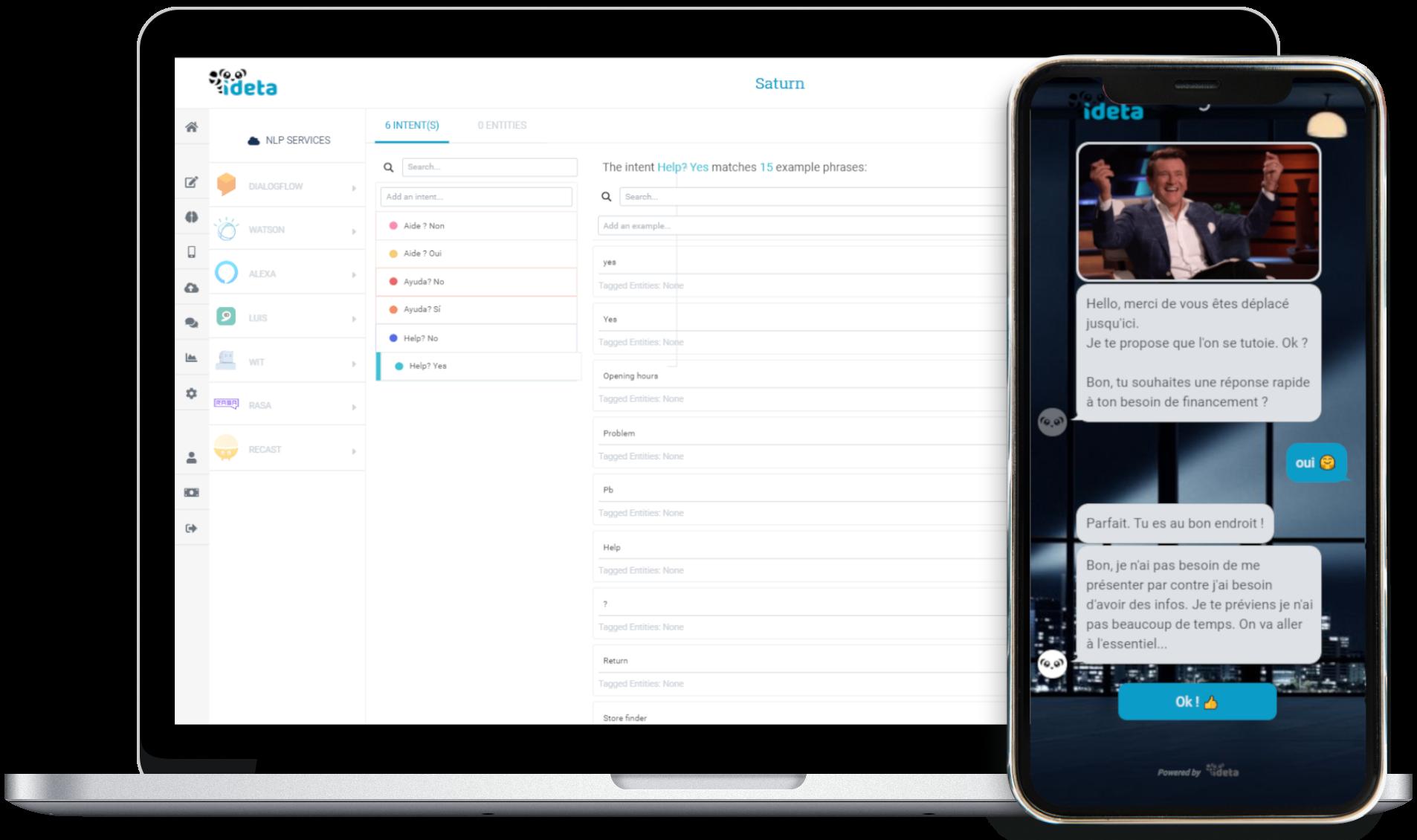 macbook iphone chatbot AI