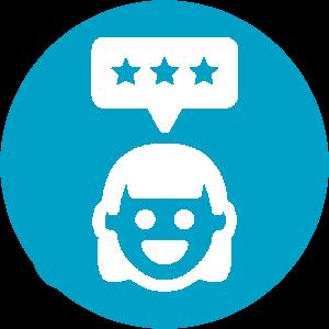 customer satisfaction logo