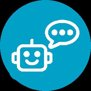 robot speak logo