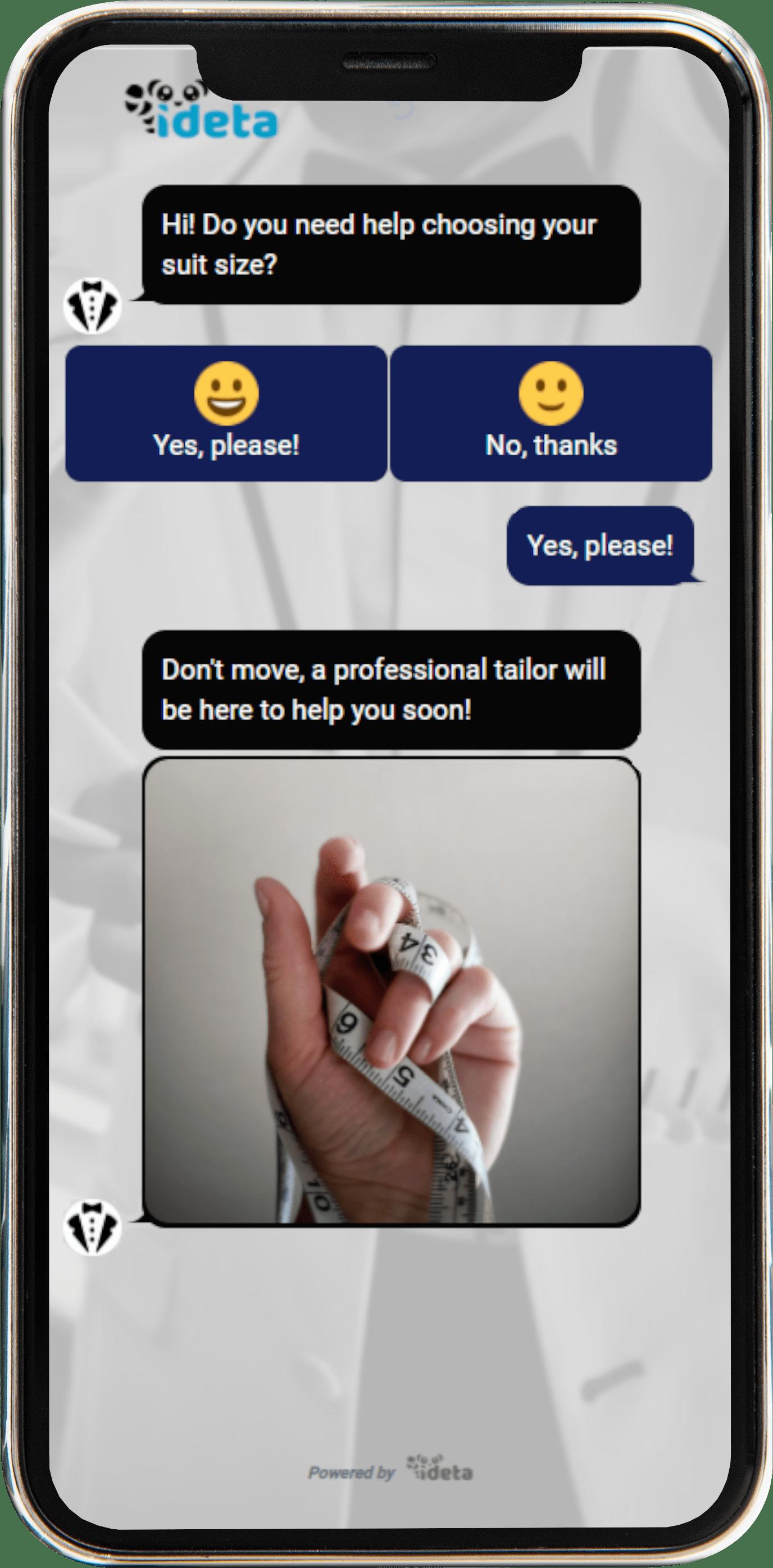 suit company chatbot