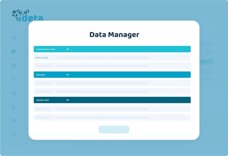 data manager ideta