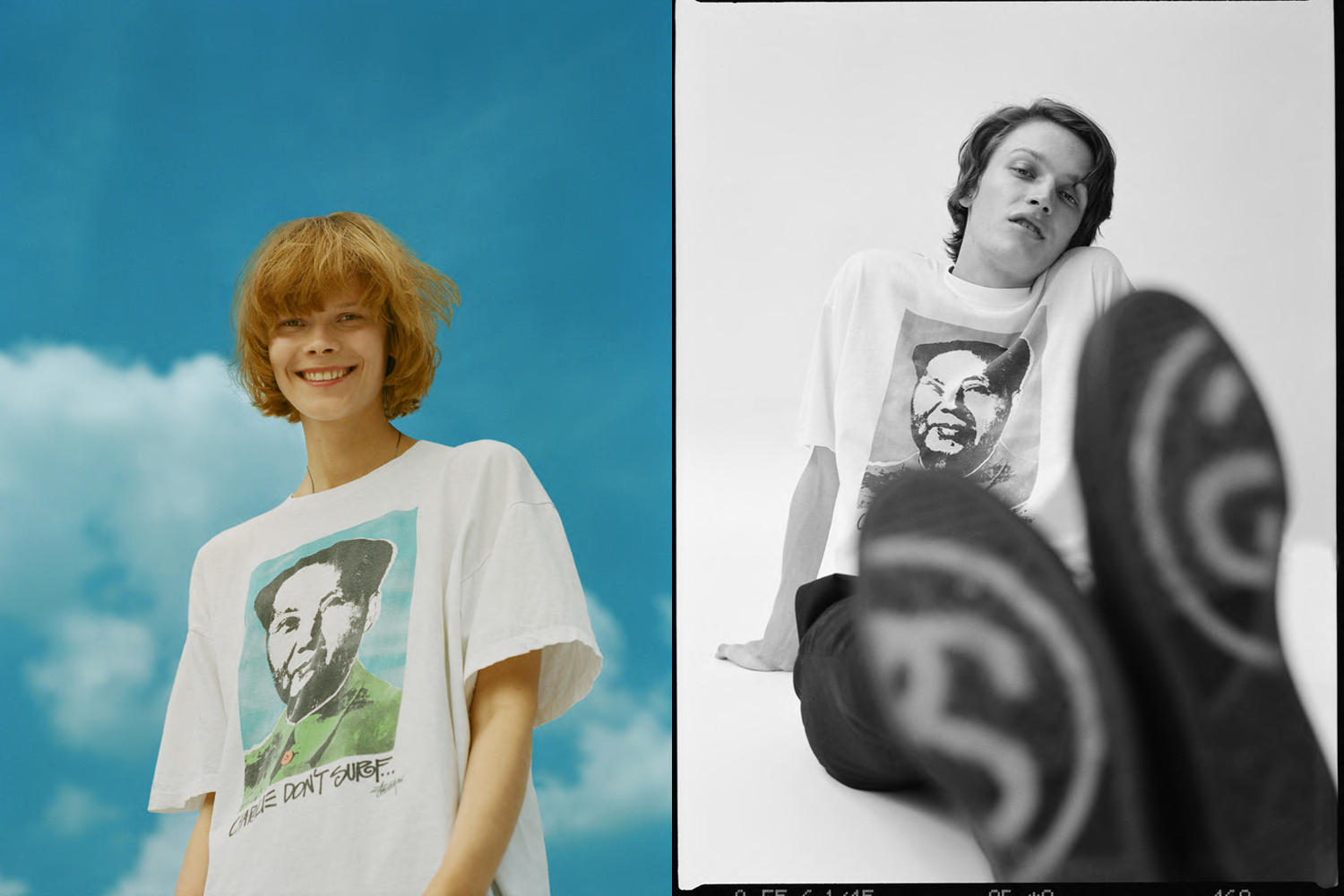 Creative direction, photography for 'An Idea book about T-Shirts by Stüssy'