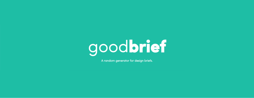 Try this creative brief generator for your next portfolio piece