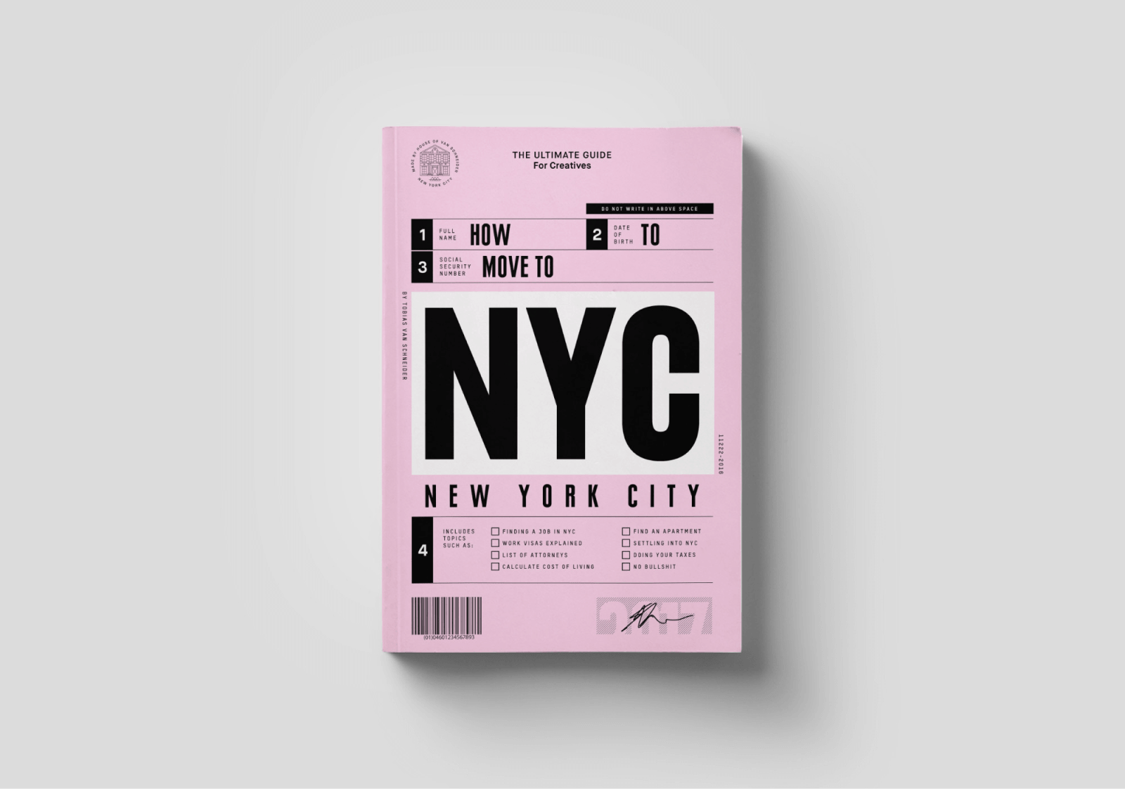 NYC — The ultimate guide for moving to New York City, written and designed   for creatives.