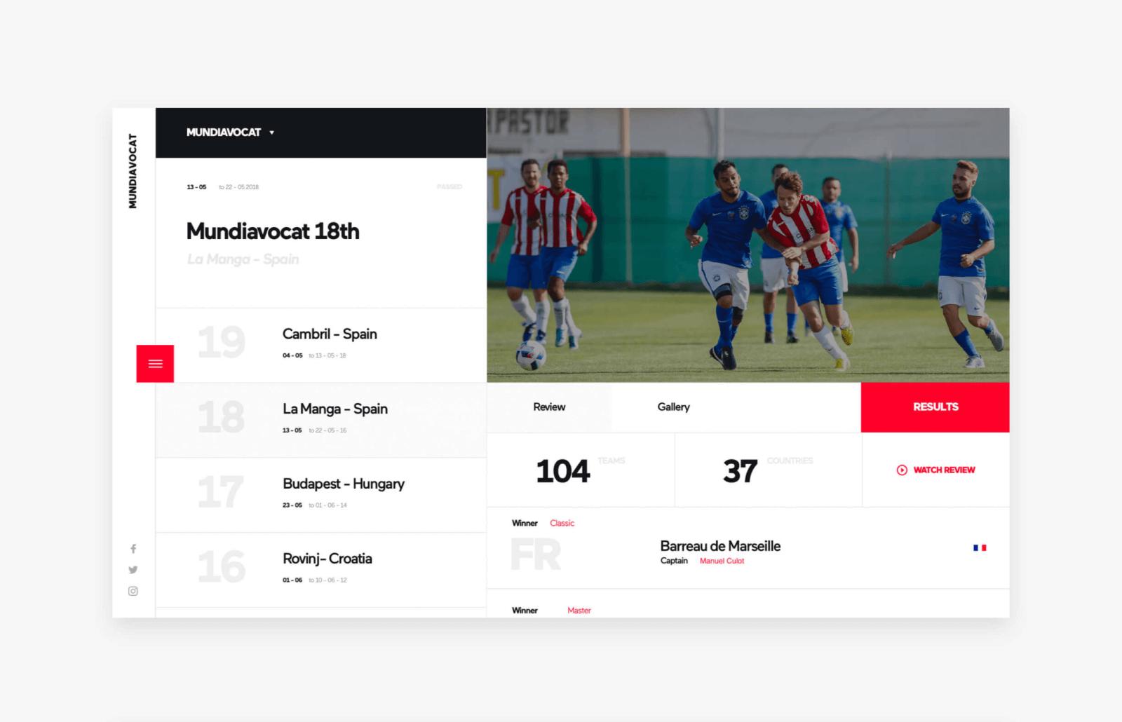 Mundiavocat website design