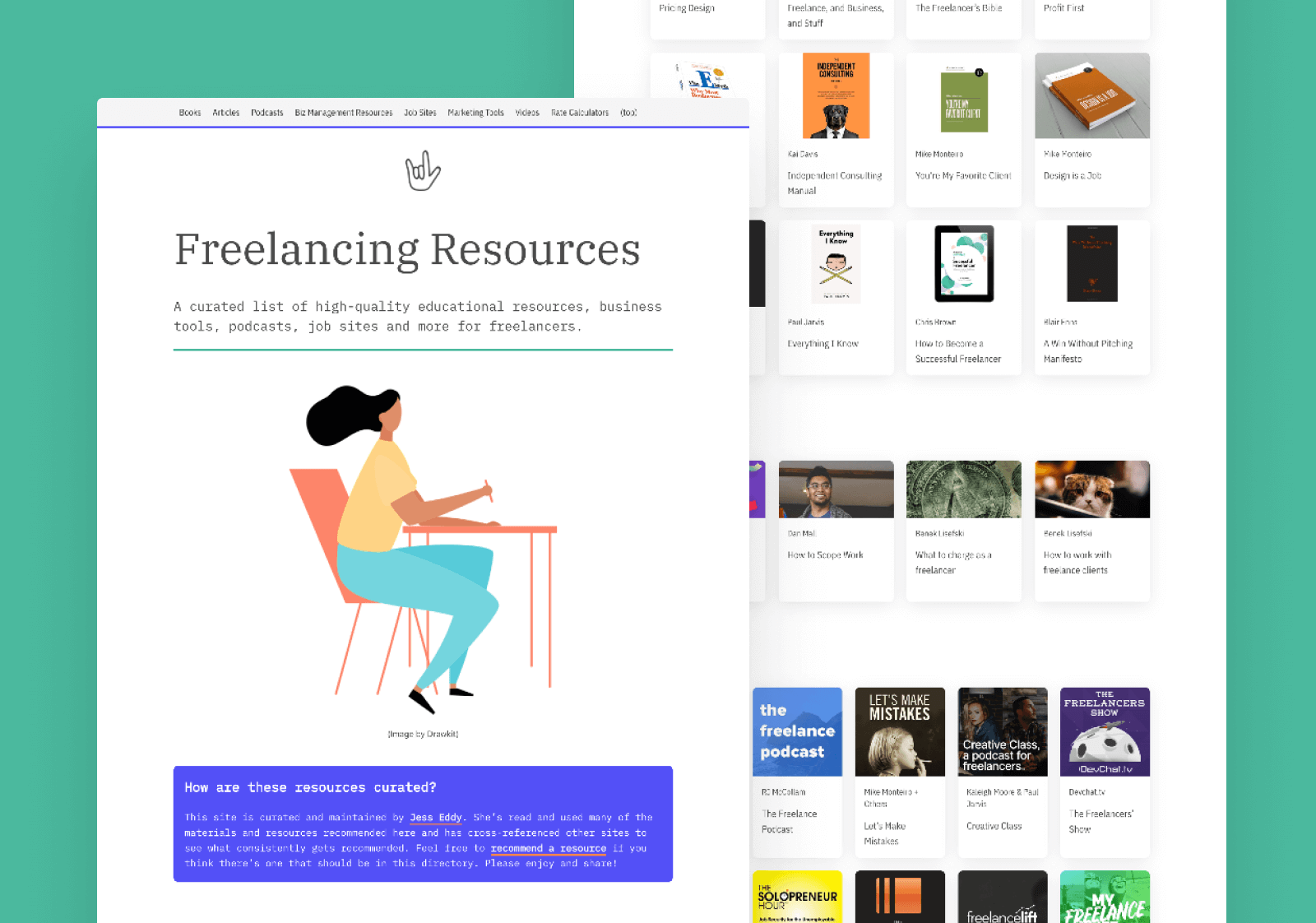 Freelancing Resources - A curated high-quality list of resources for freelancers.