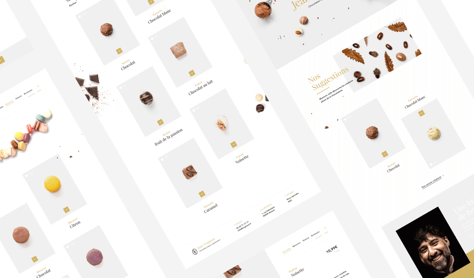 Chocolatier Trogneux - Website Redesign & Packaging