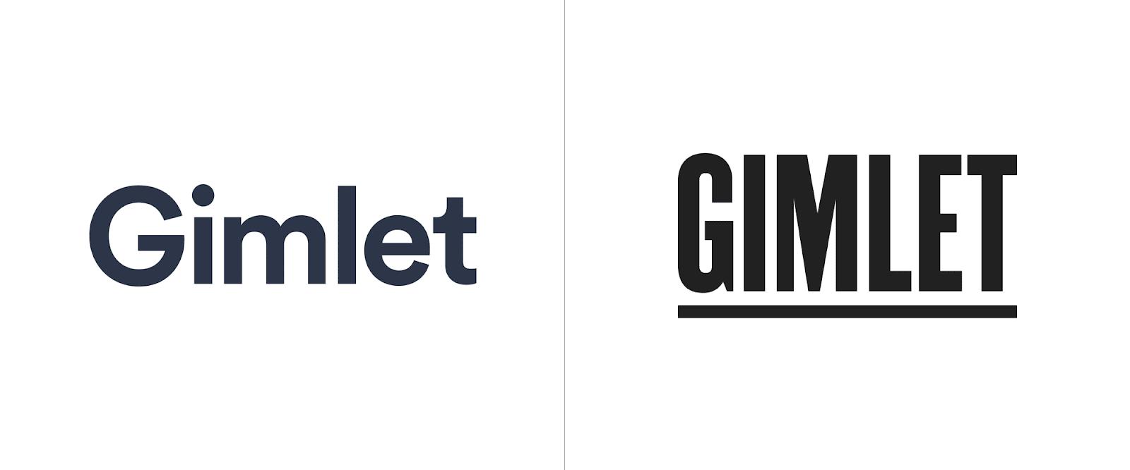 Gimlet - Branding