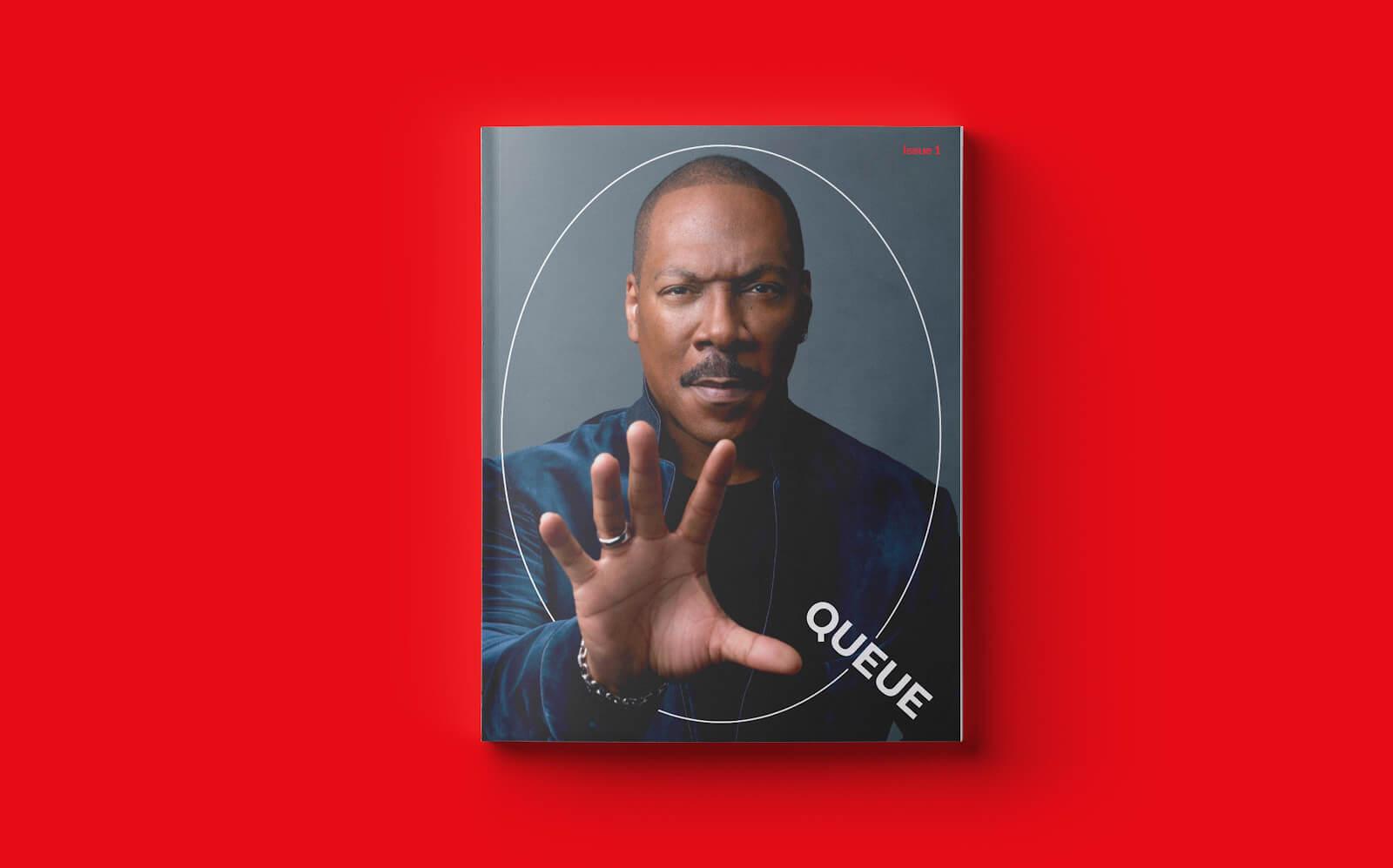 Netflix Queue - Print Journal by Pentagram