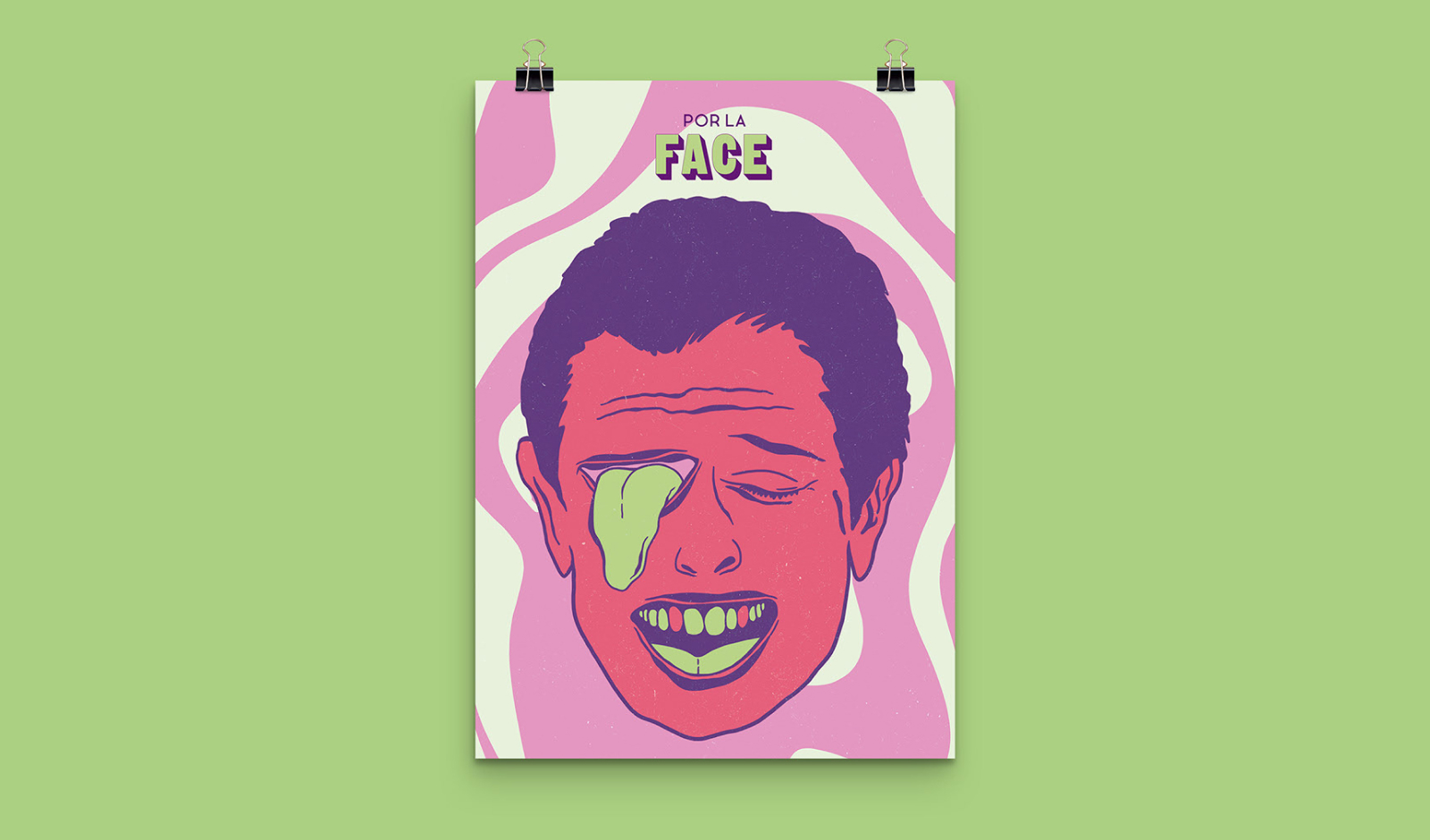 Por La Face - Editorial Design