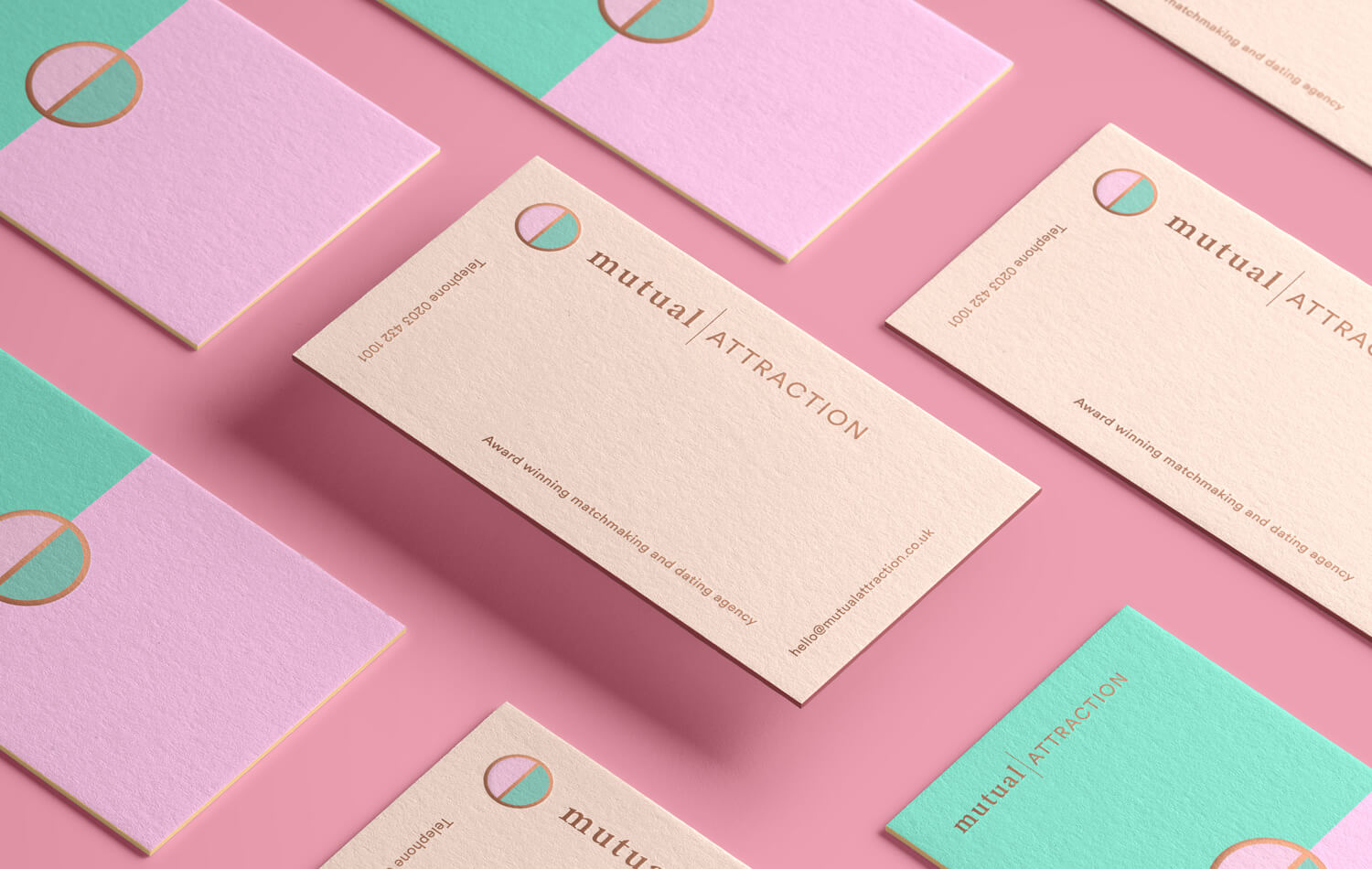 Mutual Attraction - dating agency brand refresh