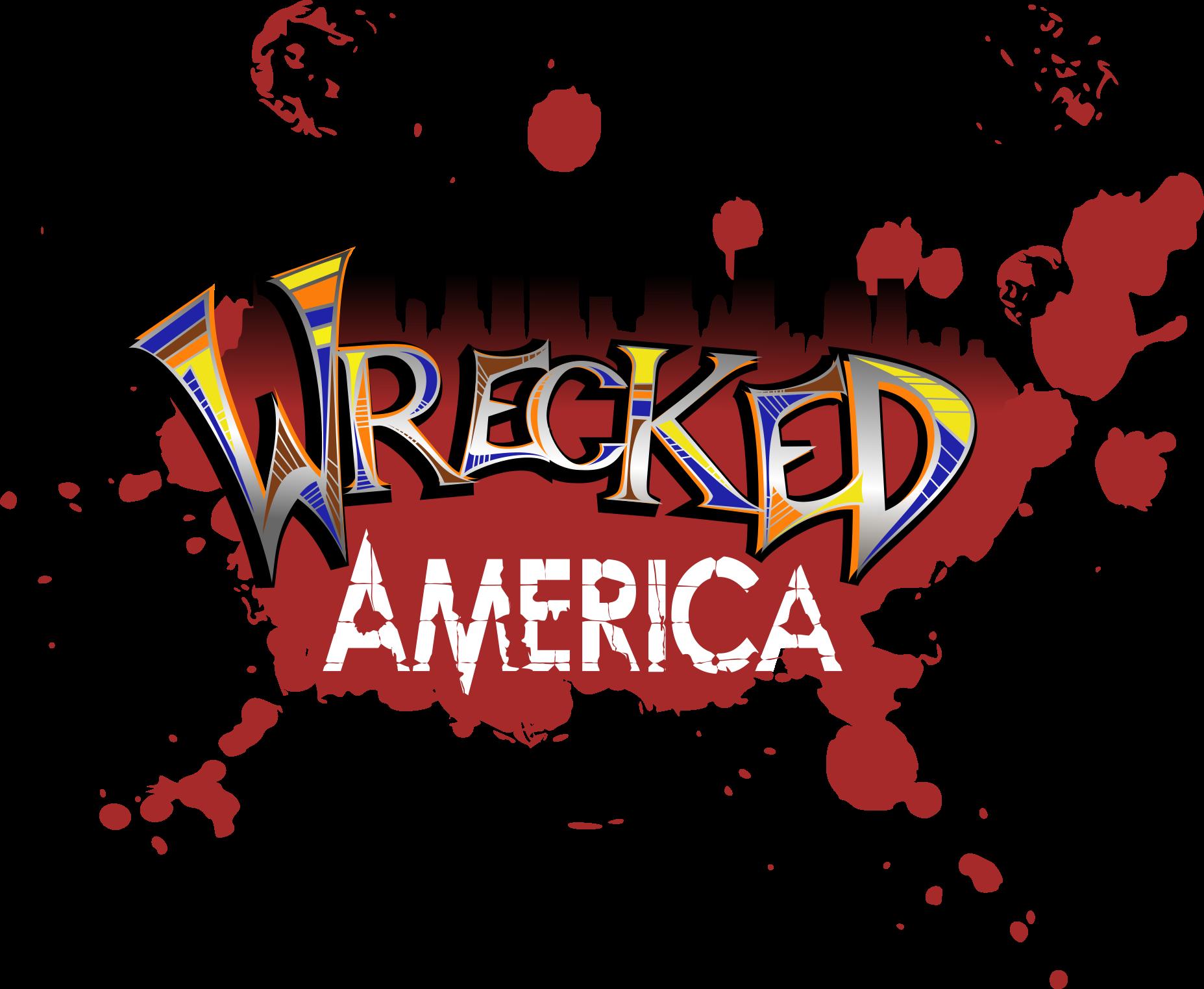 Wrecked America logo