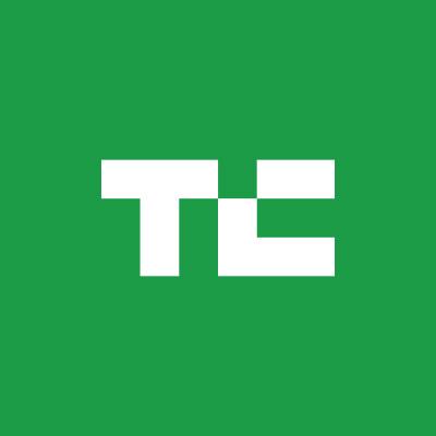 TechCrunch logo.