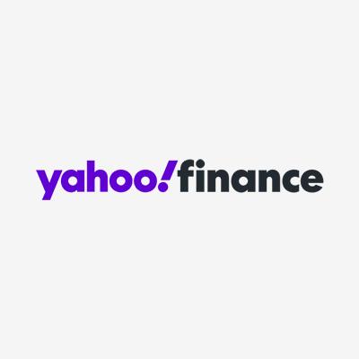 Yahoo! Finance logo.