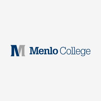 Menlo College logo.