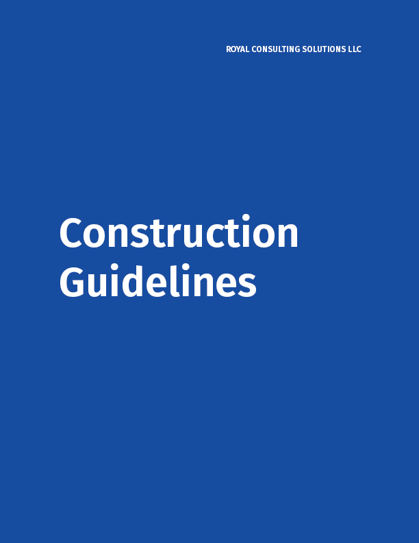 Construction Guidelines PDF Home