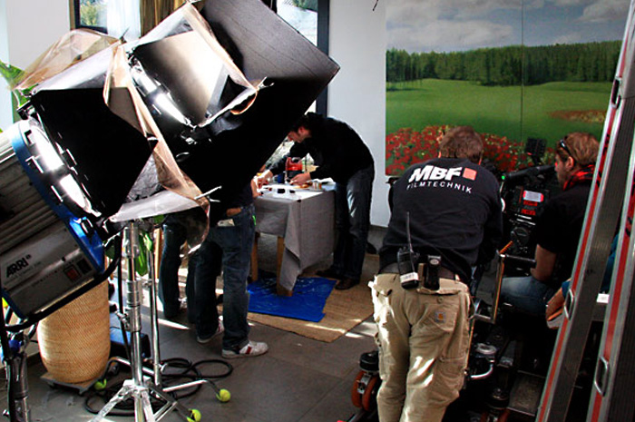 On-Set photography