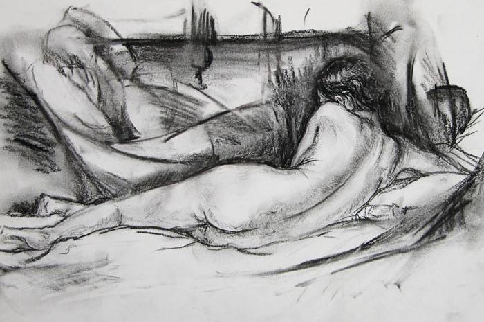 Nude Drawing I