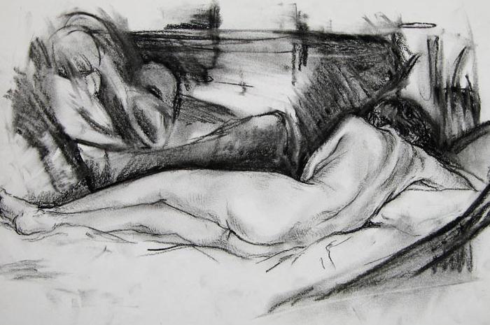 Nude Drawing II