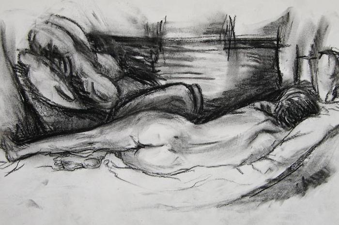 Nude Drawing III