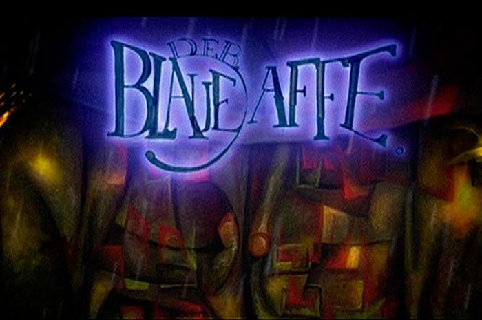 The Blue Monkey Entrance