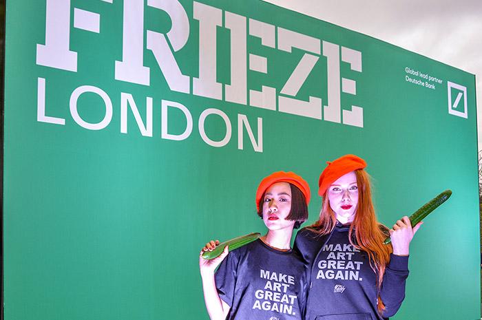 I'M BADDY at Frieze London