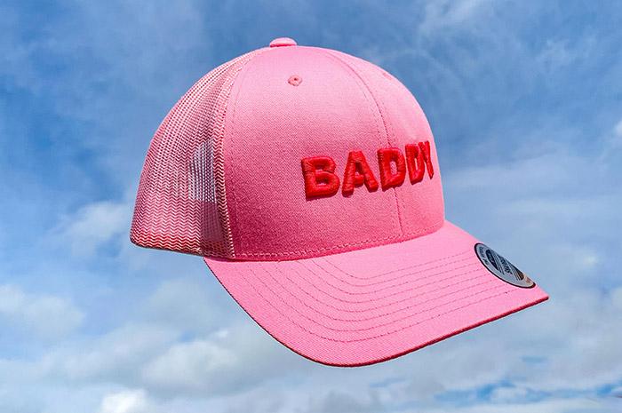 I'M BADDY Pink cap