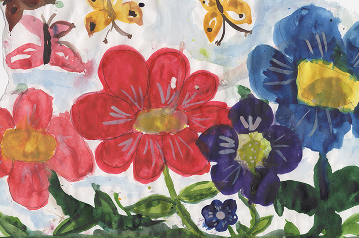 Painting and drawing with watercolours and crayons (ages 4–6)