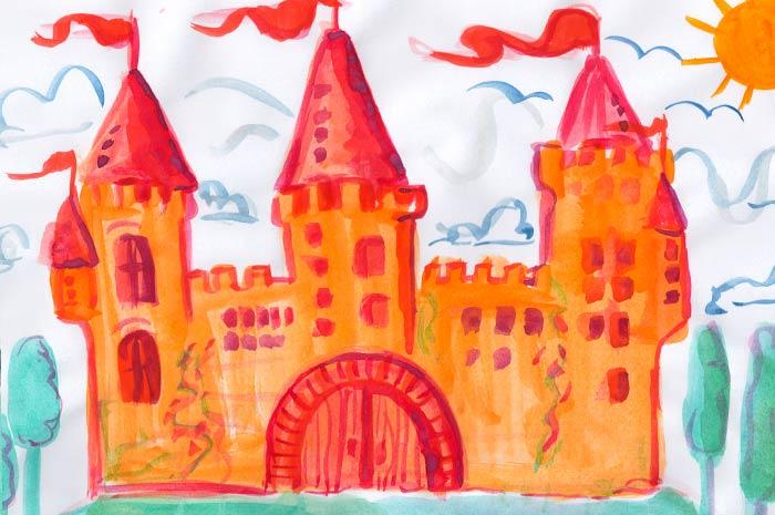 Malen & Zeichnen mit Wasserfarben und Buntstiften für Kinder (4-6) Aufbaukurs