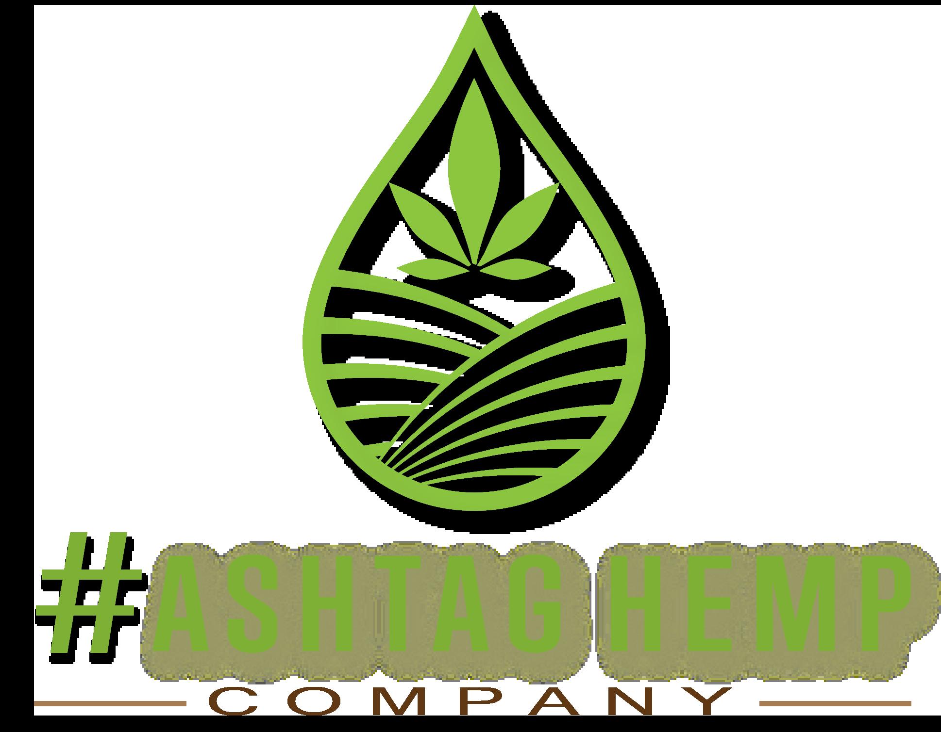 hashtag hemp/cbd logo