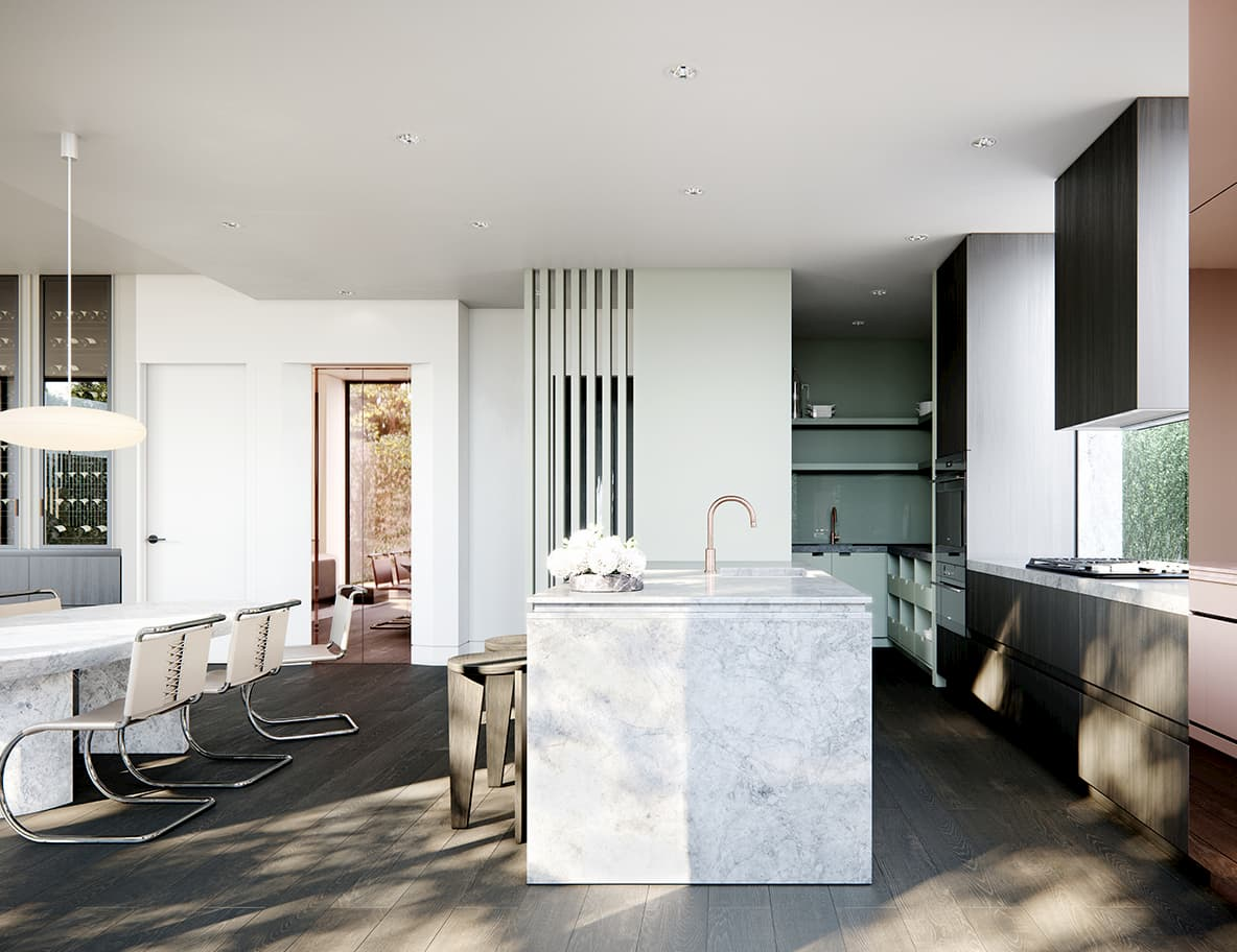Kitchen, Quartet, South Yarra