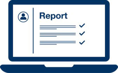 Receive constructive reports
