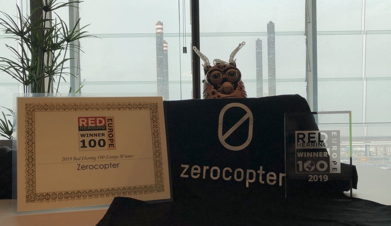 Zerocopter chosen as a 2019 Red Herring Top 100 Europe Winner