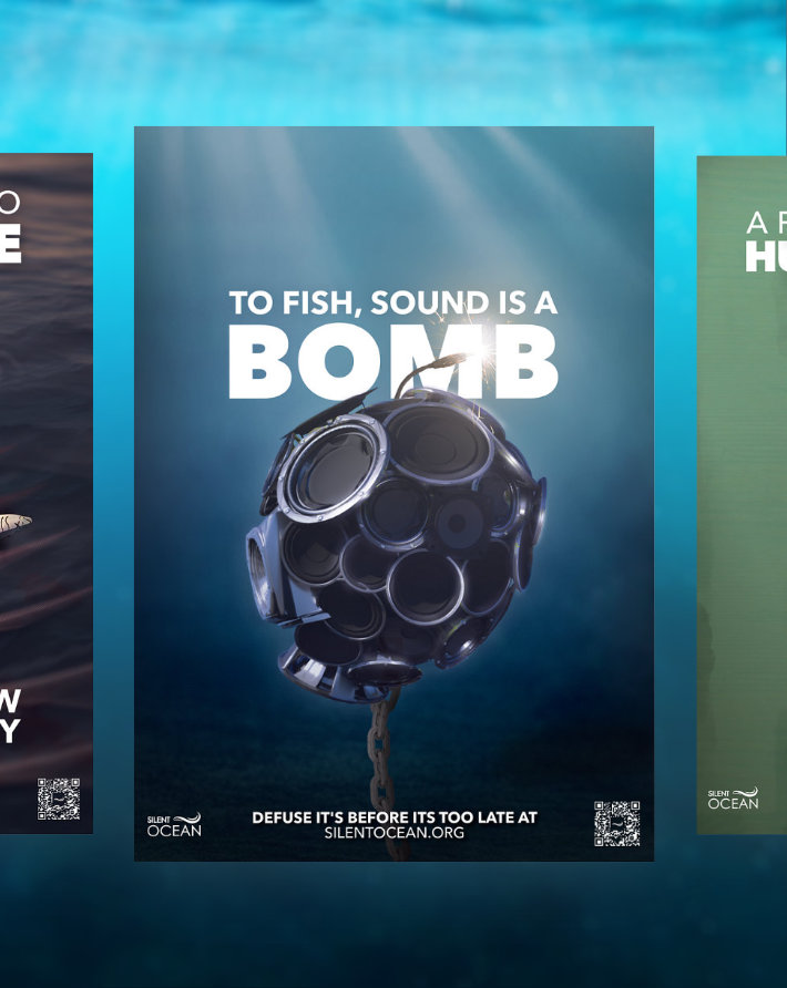 Silent Ocean - Awareness Campaign