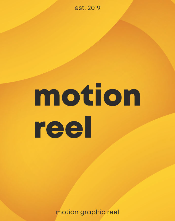 Motion Graphic Reel 2019