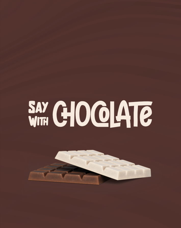 Say with Chocolate