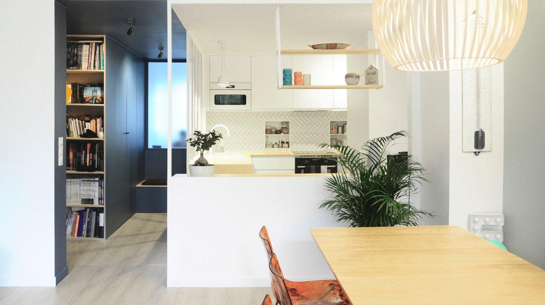 Rénovation d'un appartement des années 50 à Meudon