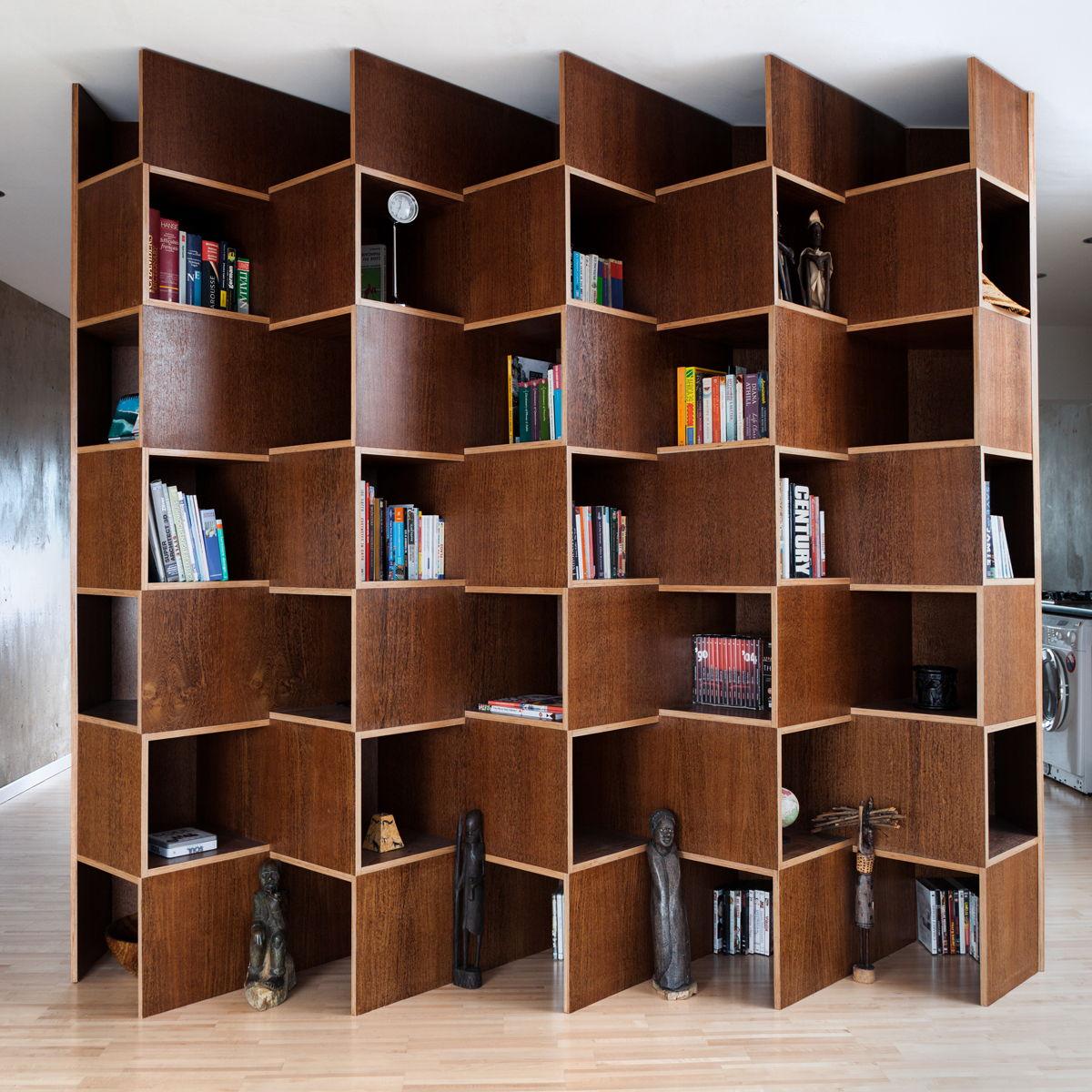 bibliothèque-bois-livre