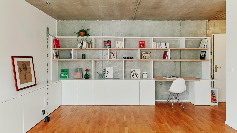 Rénovation sur-mesure d'un appartement à Paris