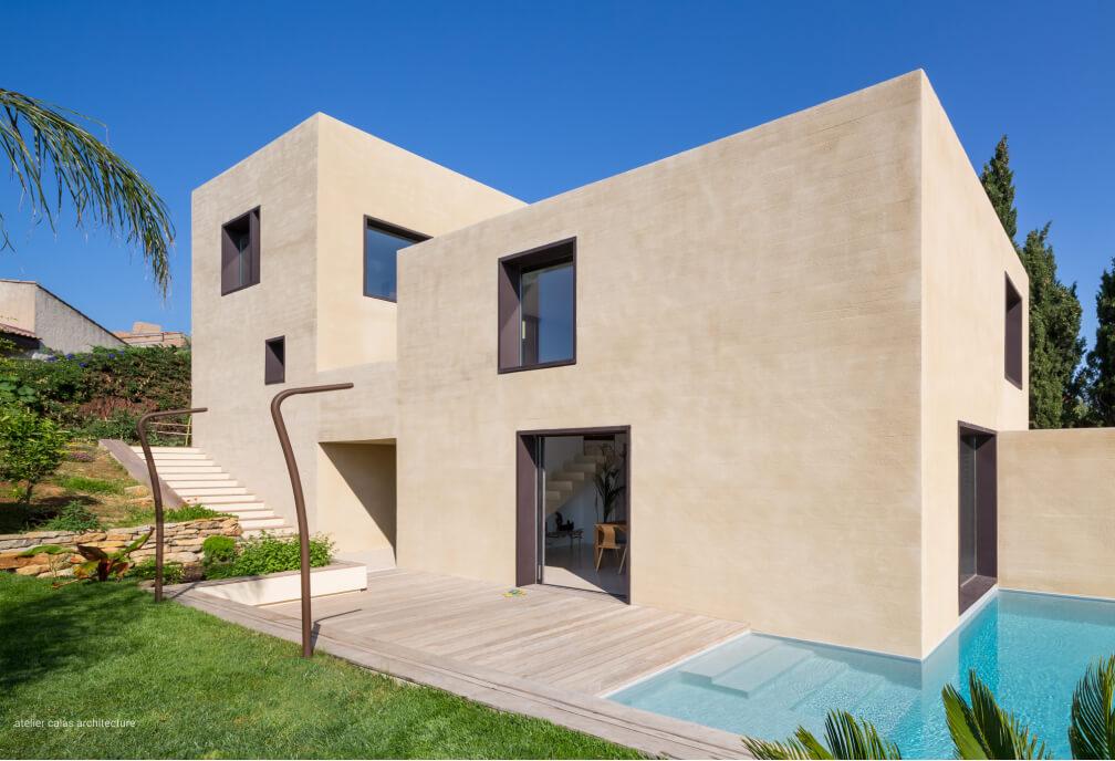 Architecte construction maison Aix-en-Provence et Lubéron
