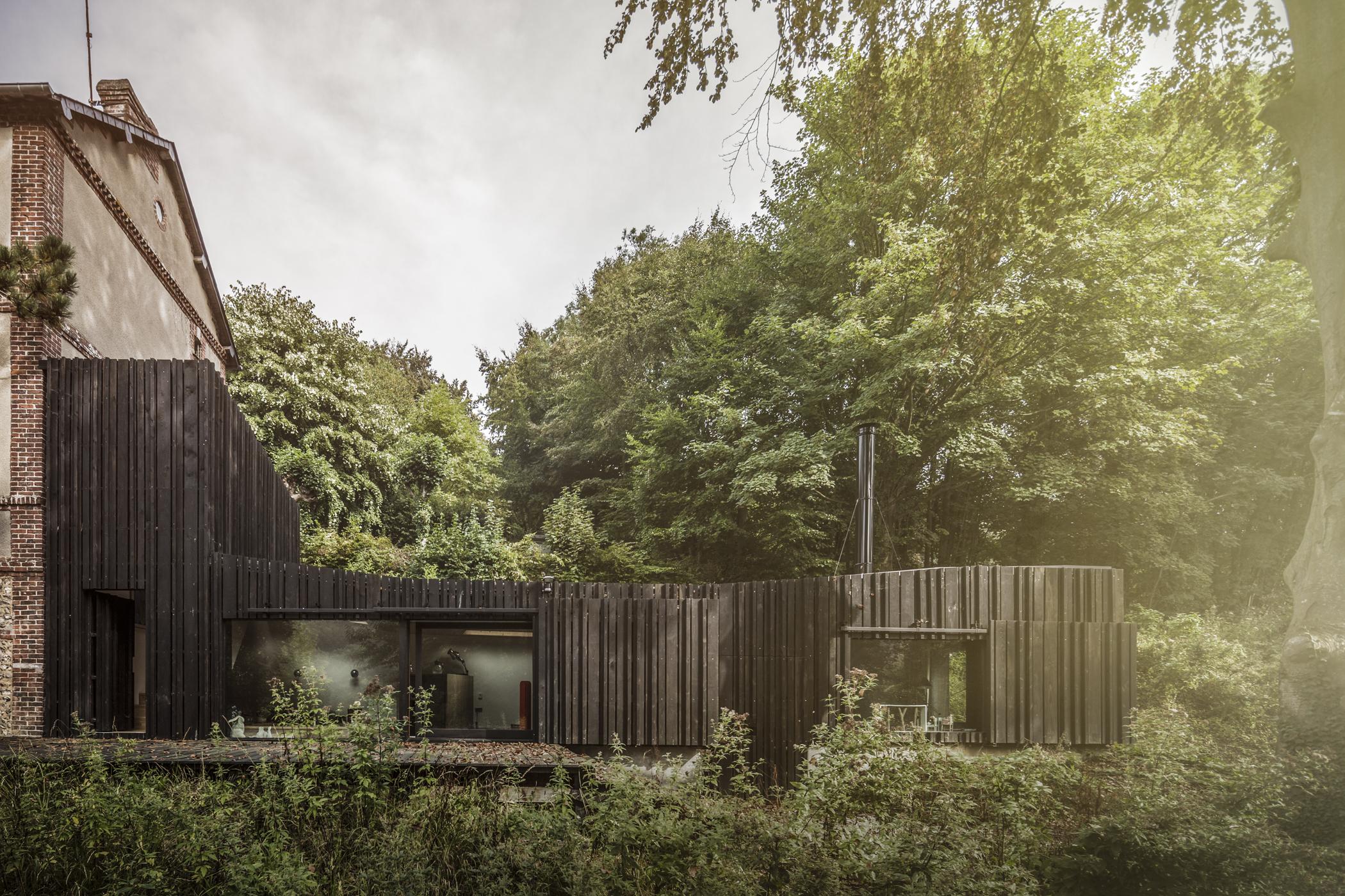 Les plus belles maisons en bois d'architecte